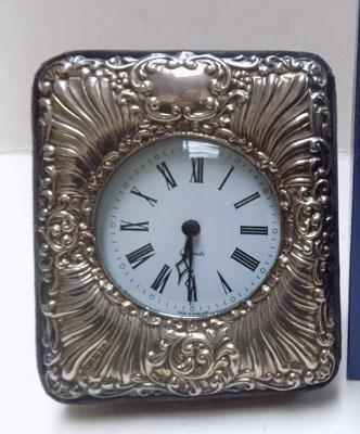Sterling silver clock-London hallmark