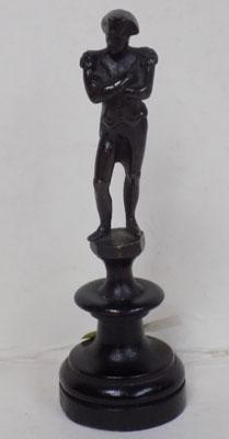 Small bronze Napoleon figure c19th, size-12cm tall