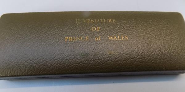 Boxed set of investiture of HRH Prince Charles-only 250 minted