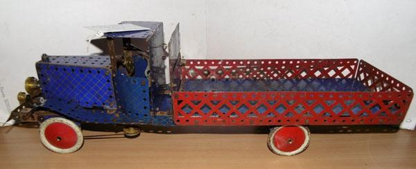 Meccano 1933 Clockwork truck & key