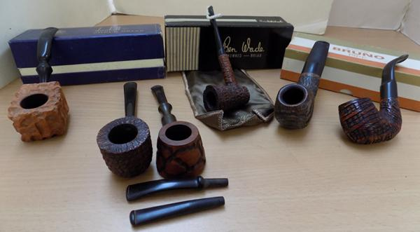 Selection of collectable pipes incl: Lorenzo, Trident, Polo and Ben Wade