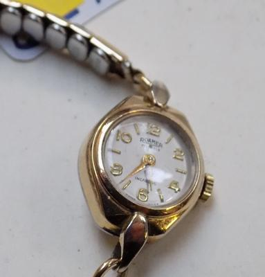 Vintage Roamer watch - Swiss 17 jewel (reg: 95434)