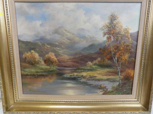 Landscape original oil painting by Prudence Turner