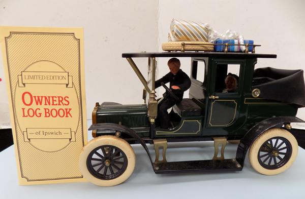 Vintage Carette Jan Blenken 1920's tin plate limousine car with box & cert (Ltd Ed)