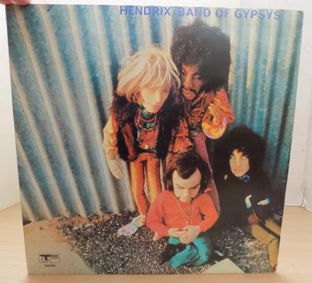 Collectable LP - Hendrix 'Band of Gypsys'