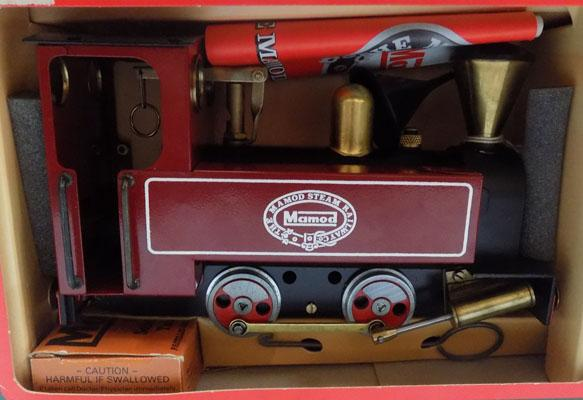 Mamod steam loco-as new/never fired