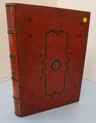 Rare Huntley & Palmer red book tin-very good condition