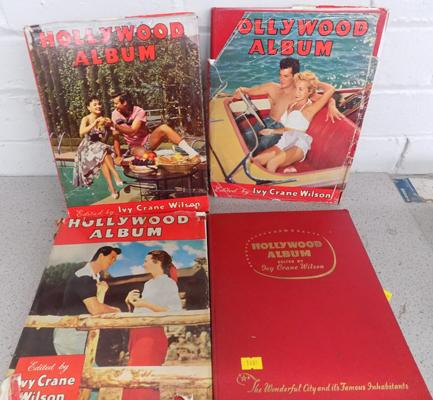 4x Collectors Hollywood books