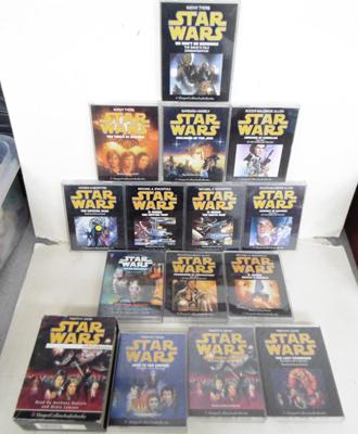 Set of Star Wars audio books
