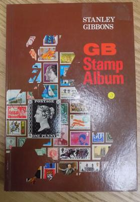 Stanley Gibbons GB stamp album from 1840 Queen Victoria well stocked
