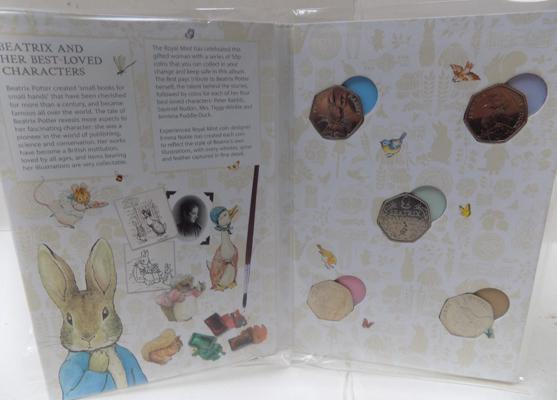 Beatrix Potter collectors 50p book