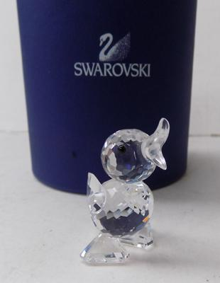 Swarovski small duck in box