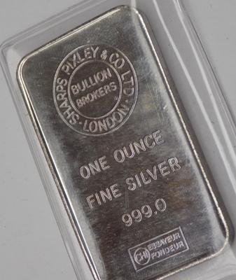 999 fine silver one ounce bullion