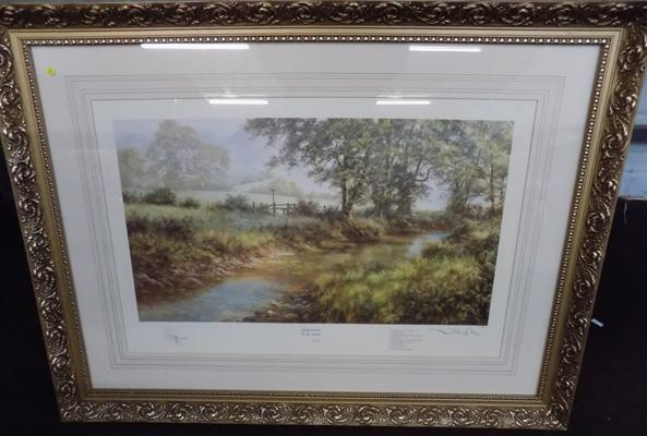 "David Dipnall ""Morning by the Stream"" Limited Edition print 25"" x 34"""