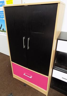 2x Door bedroom cupboard