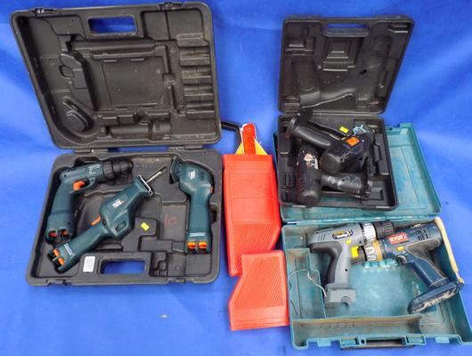Mixed box of electric tools