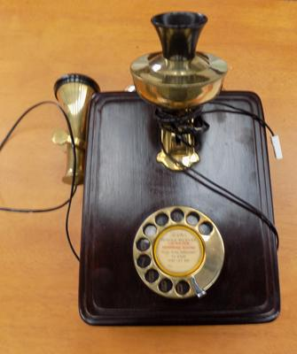 Vintage Siemens brothers replica phone