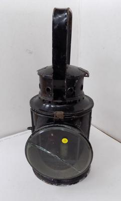 Old railway lamp