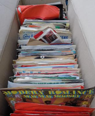 Box of mixed singles