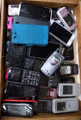 Case of mobile phones