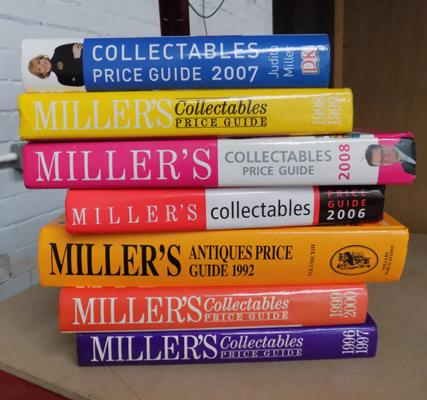 Selection of Miller's Antique Price Guide Books