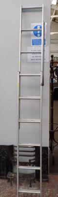 Pair of extending loft ladders