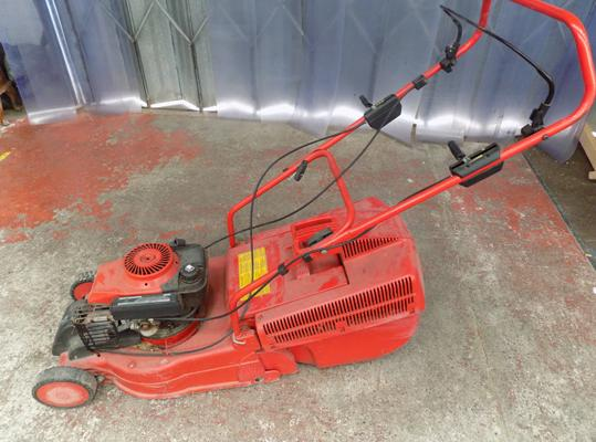 Alko Sunline petrol lawnmower in w/o