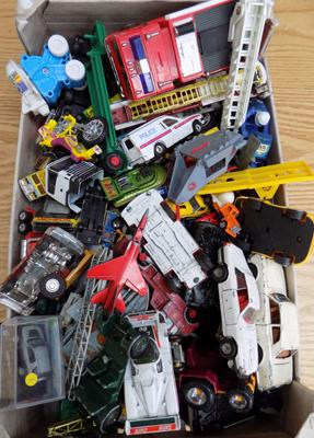 Mixed box of diecast - Corgi etc