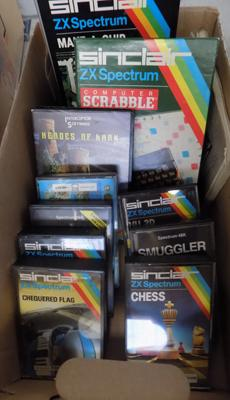 Box of 11 spectrum games