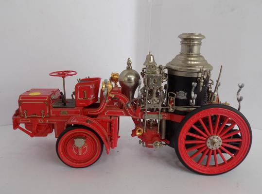Franklin mint precision model, 1912 front drive Christie steamer