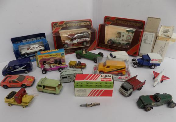 Selection of vintage Diecasts