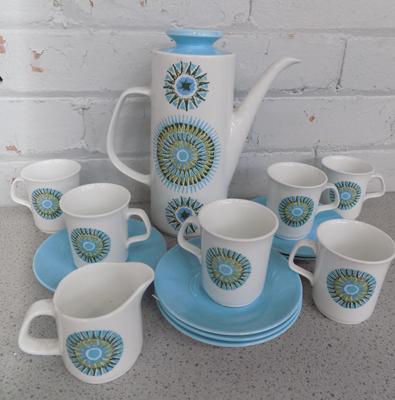 Meakin coffee set - not complete
