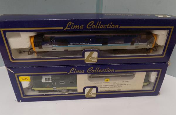 Two Lima locomotives - one limited edition, 1000 of 1000