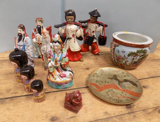 Selection of oriental figures