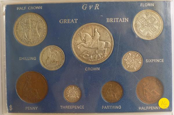 Great Britain coin set