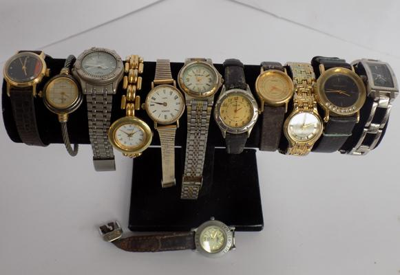 Collection of ladies and gents watches