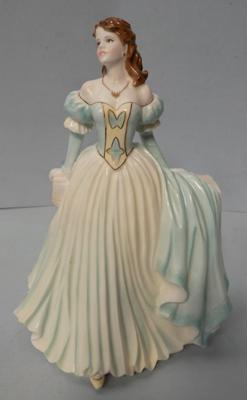 Royal Worcester figurine 'Olivia', Summer Romance series by Jack Glynn