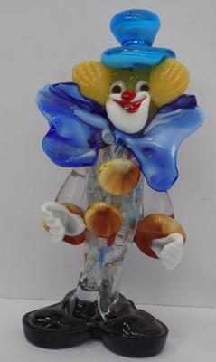 "Murano Clown, approx 6"", good condition, no damage"