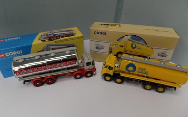 Two Corgi collectable tankers, both Ltd. Edition