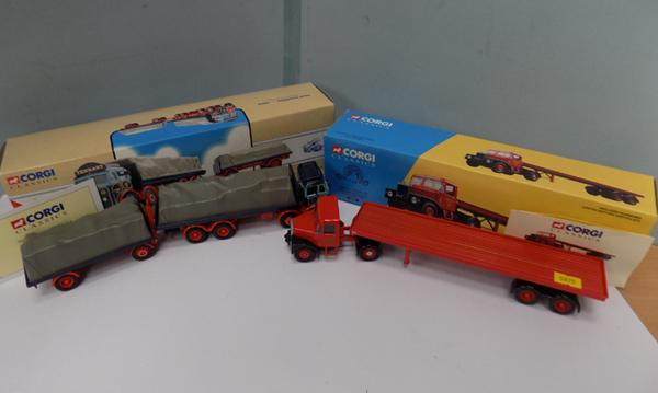 Two Corgi classics commercial vehicles - Tennant, Siddle & cook