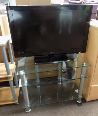 "Technika 32"" TV and stand and remote and instruction manual - in W/O"
