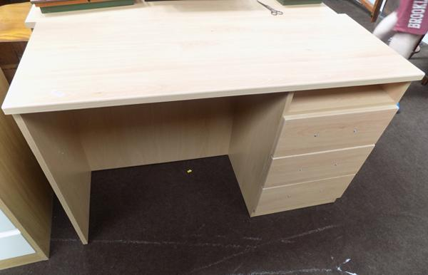 Beech coloured dressing table