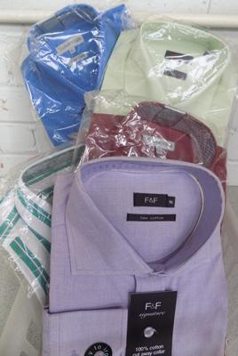 Selection of new sealed shirts