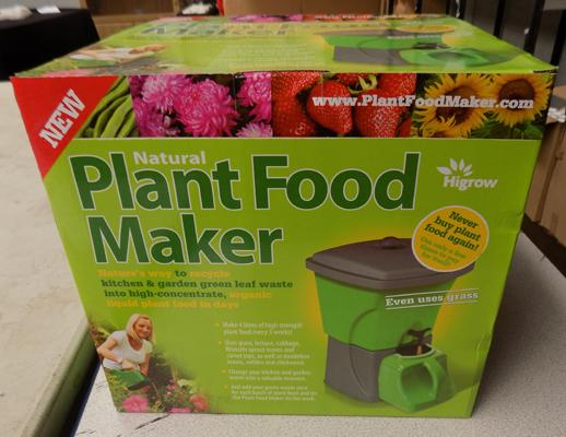 Plant food maker - new in box