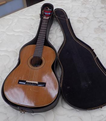 Goya guitar accoustic with case and strings