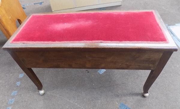 Large piano stool