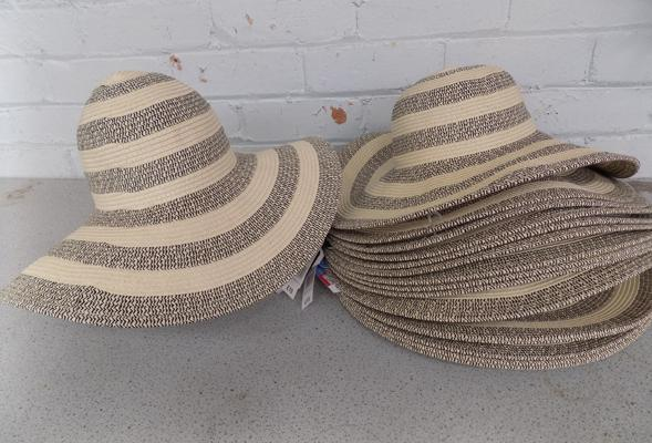 Selection of new ladies sun hats