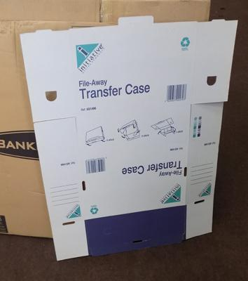 20 new transfer cases and 20 transfer files