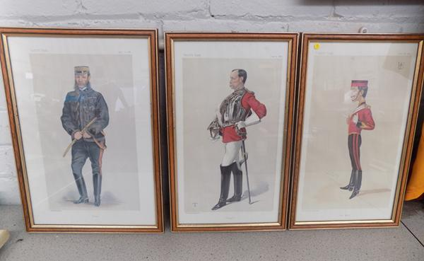 3 Vanity Fair prints by Vincent Brooks, Day & Son