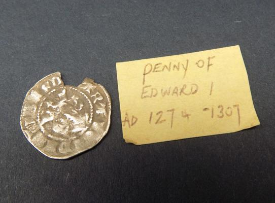 Edward 1st silver hammered - silver penny 1274-1307 - very scarce